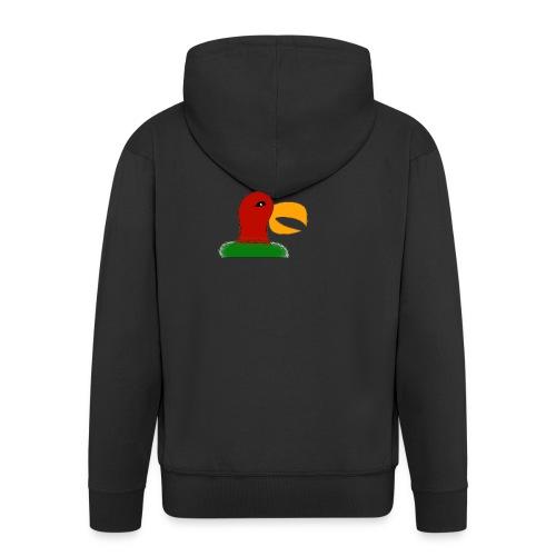 Parrots head - Men's Premium Hooded Jacket