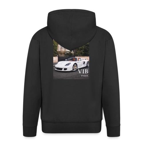 Luxe Life VIB PARIS Collection - Veste à capuche Premium Homme