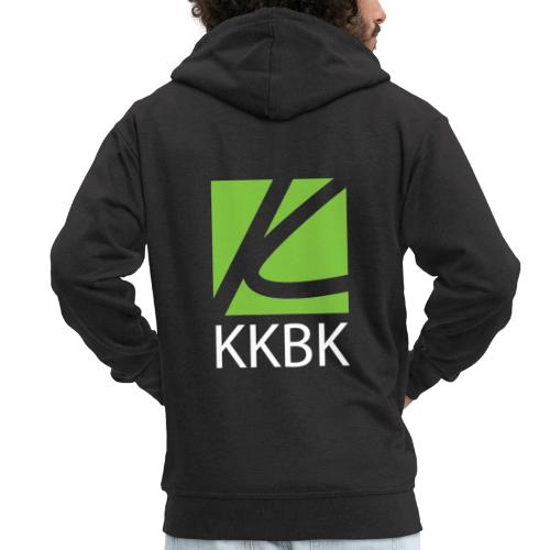 KKBK Logo - Männer Premium Kapuzenjacke