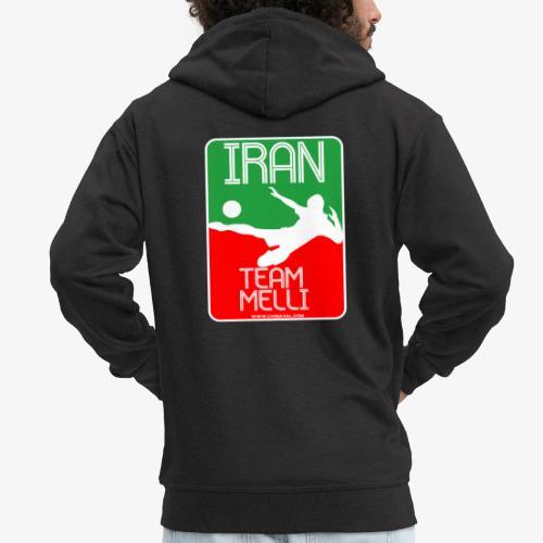 Iran Team Melli - Männer Premium Kapuzenjacke