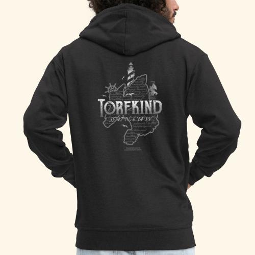 Torfkind Islay Whisky T Shirt Design - Männer Premium Kapuzenjacke