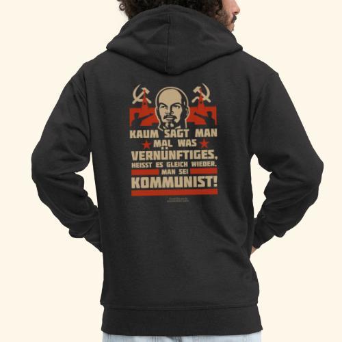 Sprüche T-Shirt Lenin Kommunist - Männer Premium Kapuzenjacke