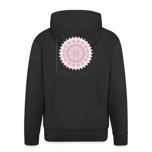 Mandala - Men's Premium Hooded Jacket