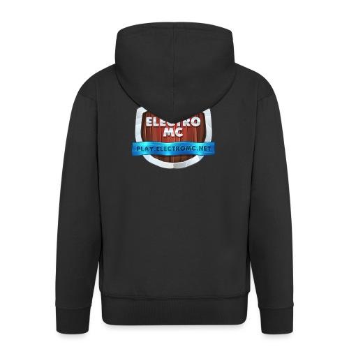 ElectroMC Logo - Mannenjack Premium met capuchon