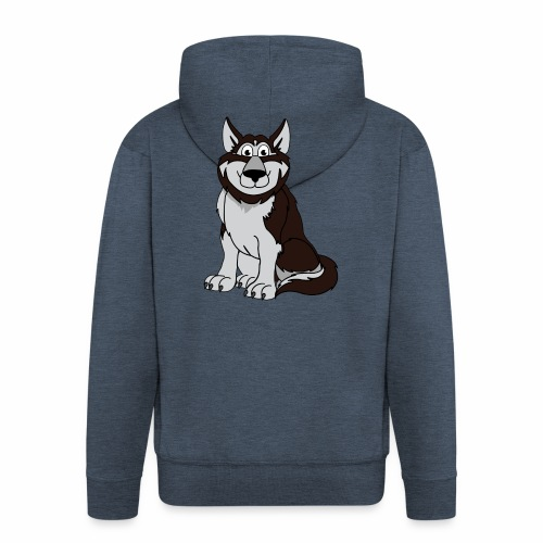 Husky - Männer Premium Kapuzenjacke