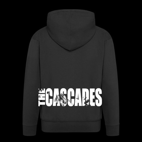 The Cascades Lettering - Men's Premium Hooded Jacket