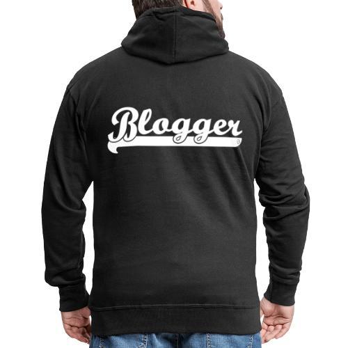 0186 Blogger | Blog | Website | Homepage - Men's Premium Hooded Jacket