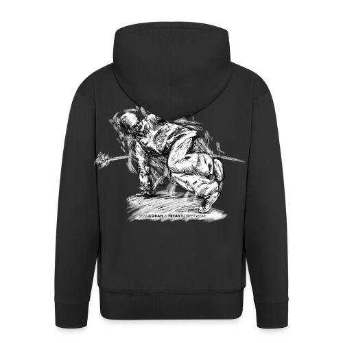 Knowledge Shirt5.2 - Männer Premium Kapuzenjacke