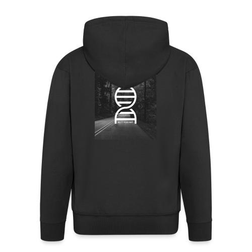 Fotoprint DNA Straße - Männer Premium Kapuzenjacke