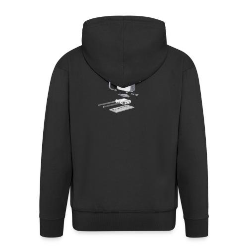 VivoDigitale t-shirt - Blackmagic - Felpa con zip Premium da uomo