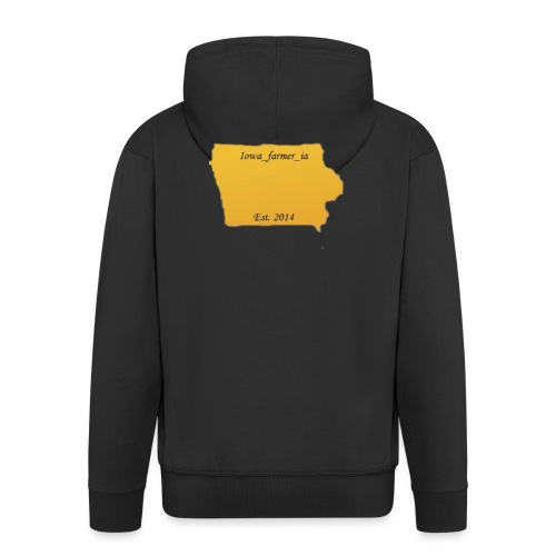 Iowa_Farmer_IA - Men's Premium Hooded Jacket