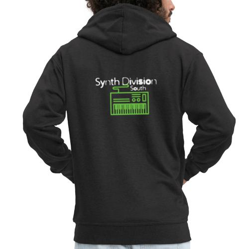 Synth Division South Logo - Men's Premium Hooded Jacket