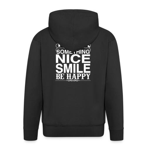 Stand up Be Happy - Männer Premium Kapuzenjacke