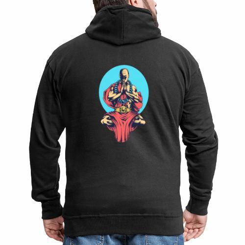 Inner Peace Inner Peace Gift Idea - Men's Premium Hooded Jacket