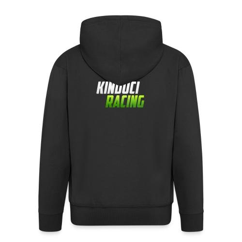 kinduci racing logo - Men's Premium Hooded Jacket