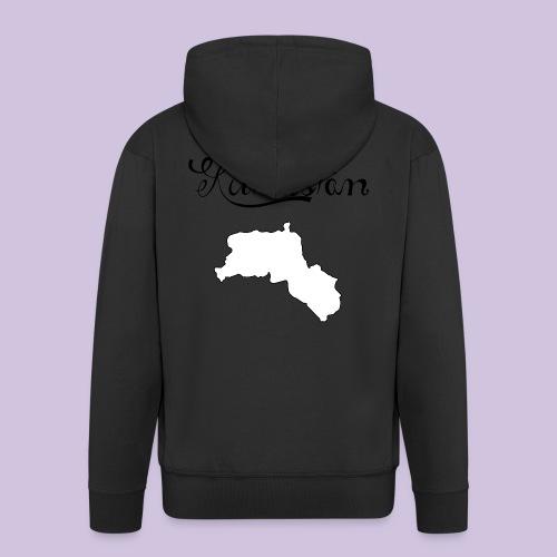 Kurdistan Black - Männer Premium Kapuzenjacke