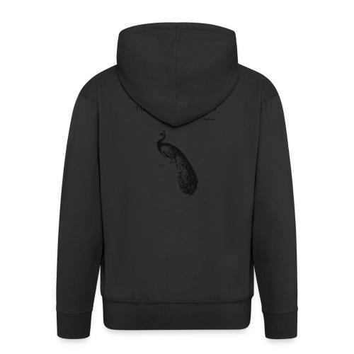 Le Paon d'Apollinaire - Veste à capuche Premium Homme