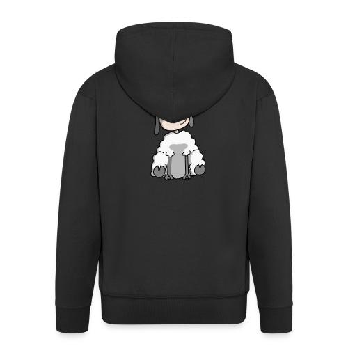 Schaf - Men's Premium Hooded Jacket