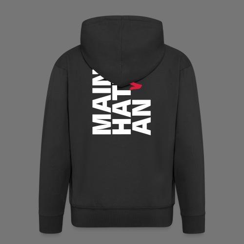 MAIN HATT nix AN - Männer Premium Kapuzenjacke