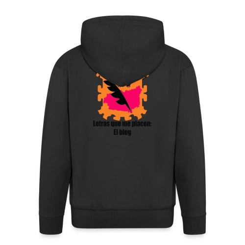 LQMP_escudo_naranja - Chaqueta con capucha premium hombre