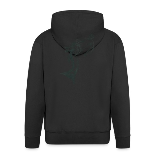 Aquarius - Men's Premium Hooded Jacket