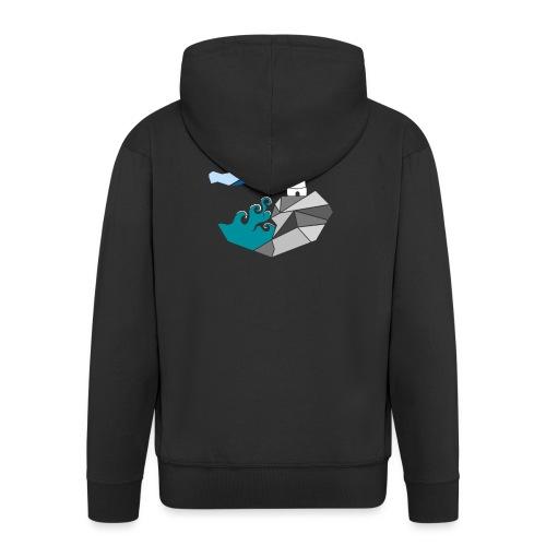 lighthouse - Men's Premium Hooded Jacket