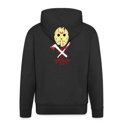 Camp Blood Shirt - Männer Premium Kapuzenjacke