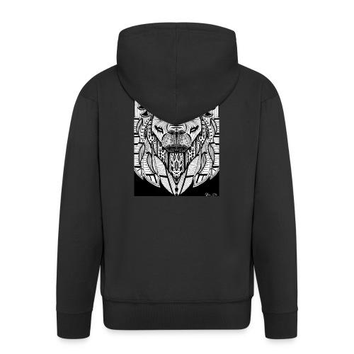 Lion - Männer Premium Kapuzenjacke
