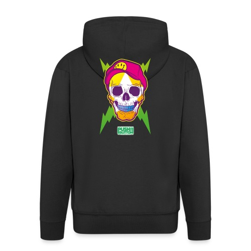 Ptb skullhead - Men's Premium Hooded Jacket