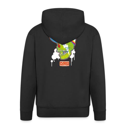 Ptb Skullhead 2 - Men's Premium Hooded Jacket