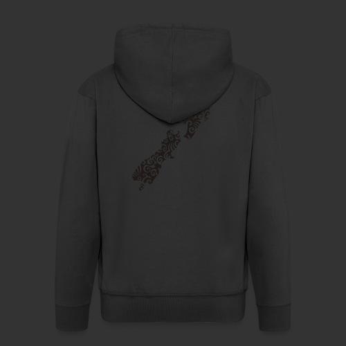 Neuseeland Maoristyle - Männer Premium Kapuzenjacke