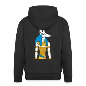 Der altägyptische Gott Anubis - Männer Premium Kapuzenjacke