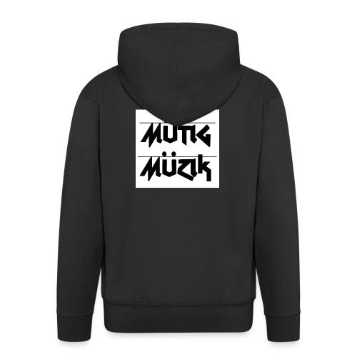 Mütig Müzik - Männer Premium Kapuzenjacke