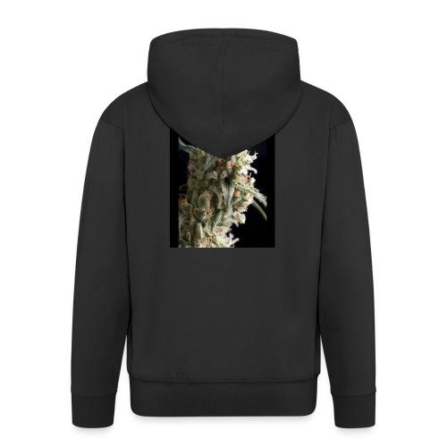 Super-Hash - Rozpinana bluza męska z kapturem Premium