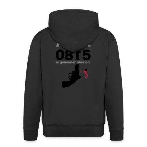 Agent 0815 - Männer Premium Kapuzenjacke