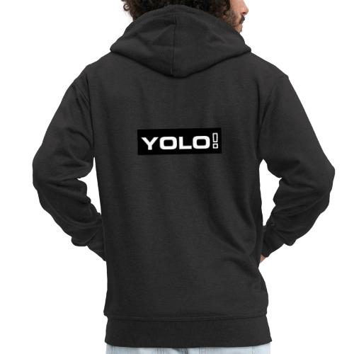 Yolo merch - Männer Premium Kapuzenjacke