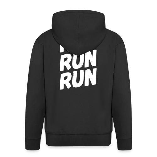 run run run - Männer Premium Kapuzenjacke