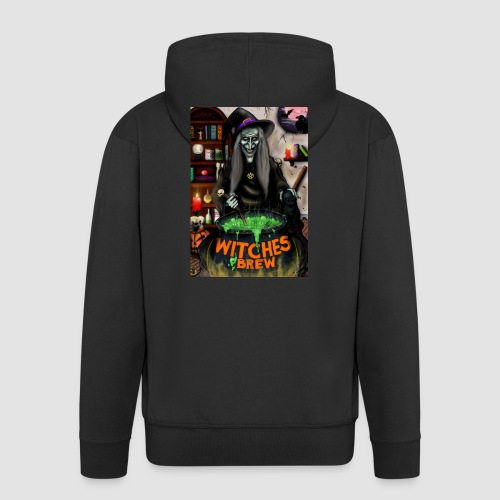 The Witch - Men's Premium Hooded Jacket