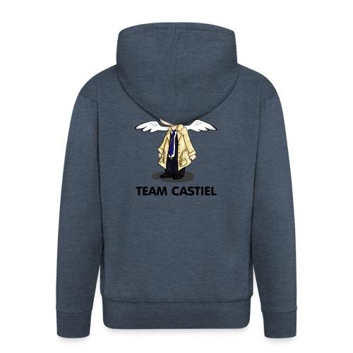 Team Castiel (light) - Men's Premium Hooded Jacket