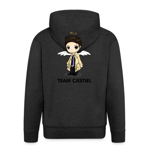 Team Castiel (light) - Men's Premium Hooded Jacket