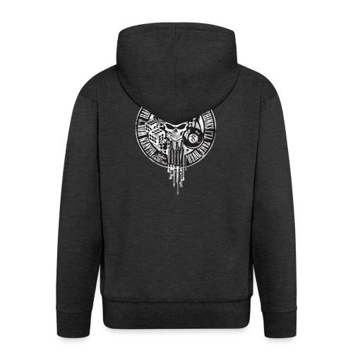 Kabes Heaven & Hell T-Shirt - Men's Premium Hooded Jacket