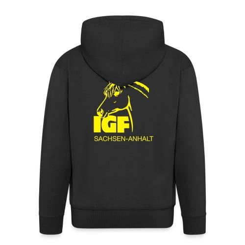 igf gelb - Männer Premium Kapuzenjacke