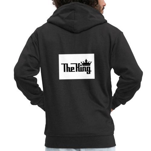 TheKing - Männer Premium Kapuzenjacke