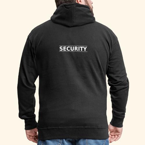 SECURITY - Männer Premium Kapuzenjacke