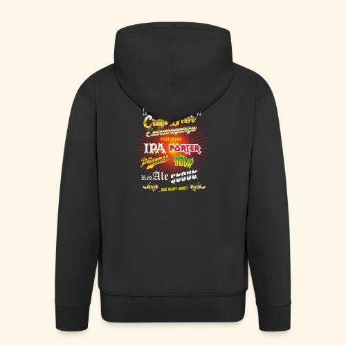 Bier-Shirt Craft Beer Extravaganza - Männer Premium Kapuzenjacke
