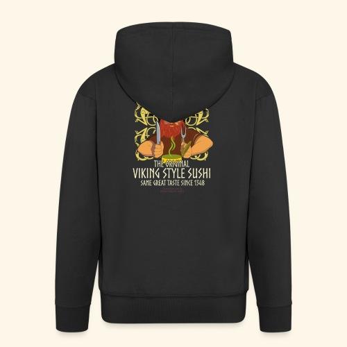 Surströmming T Shirt Viking Sushi - Männer Premium Kapuzenjacke