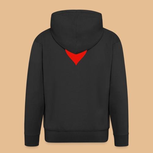 Coeur - Veste à capuche Premium Homme