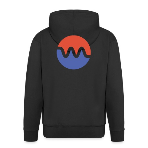 icon_sm - Männer Premium Kapuzenjacke
