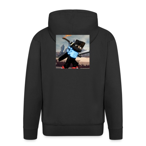Pixel Kollektion #1 - Männer Premium Kapuzenjacke