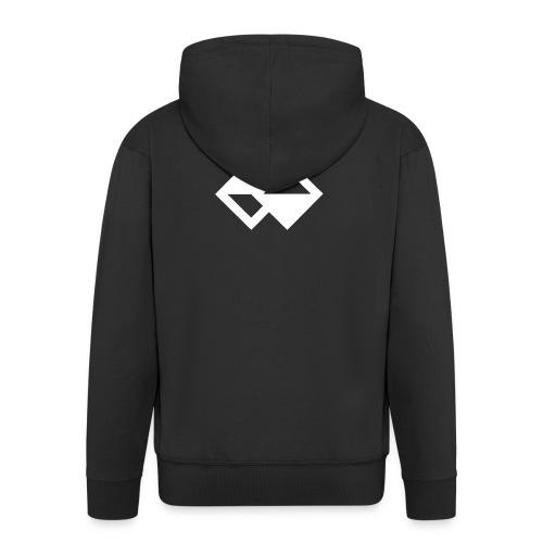Focus. Original - Men's Premium Hooded Jacket